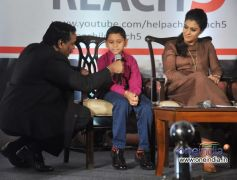 Kajol promotes Help A Child Reach 5 handwashing campaign
