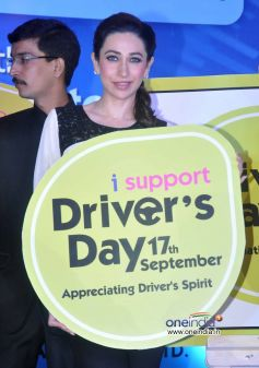 Karisma Kapoor at the launch of Driver's Day campaign