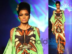 Leaf Green Slit Kaftan