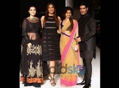Kajol, Tanisha and Lara