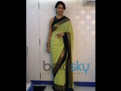 The Lime Green Saree