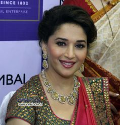 Madhuri Dixit inaugurates P N Gadgil Jeweller's New Showroom