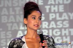 Anusha Dandekar address the media during Toni and Guy Hair Meet Wardrobe Launch