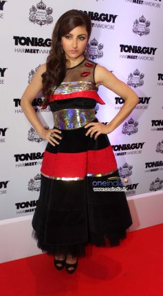 Soha Ali Khan at Toni and Guy Hair Meet Wardrobe Launch
