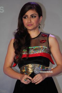 Soha Ali Khan snapped at Toni and Guy Hair Meet Wardrobe Launch