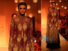 Brown Gharara
