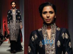 Midnight Blue Gharara