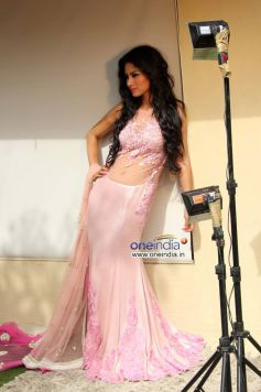 Mouni Roy during the launch of fashion designer Rohit Verma's new Festive Collection