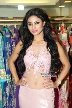 Mouni Roy at the launch of Rohit Verma's new Festive Collection