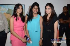 Guests at the Sagar Samir International collections Fashion show