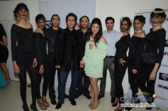 Models at Amanaya art and Sagar Samir International Jewellery Fashion show
