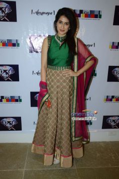 Sagarika Ghatge at the Sagar Samir International collections Fashion show