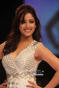 Mahie Gill walks the ramp during LFW Winter/Festive 2013 Day 01