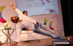 Terrence Lewis performance during an interactive session with students Follow Your Heart