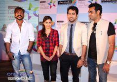 Terrence Lewis, Soha Ali Khan, Ayushmann Khurrana and Ravinder Singh