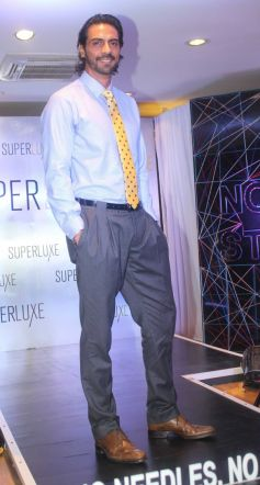 Arjun Rampal pose to camera at Arrow New Range Of Shirts launch