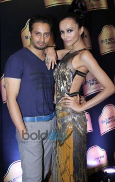 Gaviin Miguel & Dipannita Sharma In Blenders Pride Fashion Tour