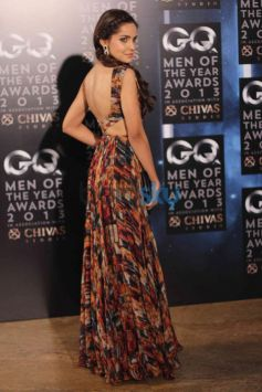 Shazahn Padamsee posing at GQ Man of the Year Award 2013