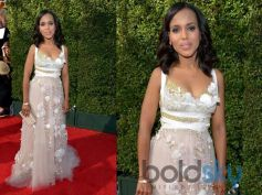 Kerry Washington, in Marchesa,at the 65th Annual Primetime Emmy Awards