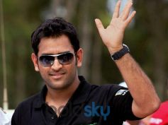 Messy Hair Of MS Dhoni Hairstyle