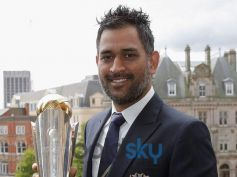MS Dhoni Short Spikes Hairstyle