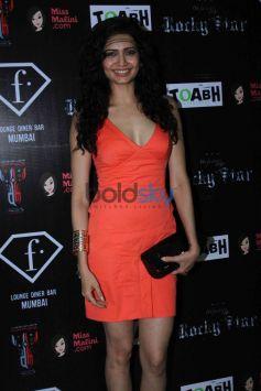 Karishma Tanna Orange Dress In Rocky Star Fashion Show
