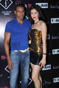 Rocky Star Fashion Show Golden Dress