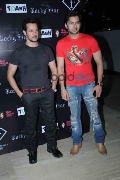 Rocky Star Fashion Show Red Dress Jeans