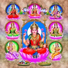 The 8 Forms Of Goddess Lakshmi Lord