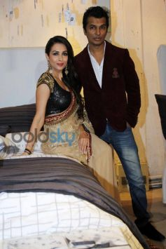 Vikram Phadnis & Malaika Arora Khan At  Blenders Pride Fashion Tour
