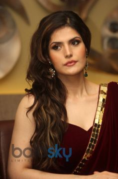 Zarine Khan at the Announcement of India Wedding Lounge