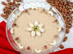 15 Best Recipes For Karva Chauth Kaju Halwa