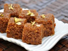 15 Best Recipes For Karva Chauth Peanut Barfi