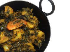 15 Best Recipes For Karva Chauth Rajasthani Mooli Palak Sabji