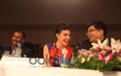 Abhishek-Kapoor,Jacqueline Fernandez & Jitesh Pillaai as panellists at the Femina Style Diva Pune at