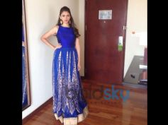 Aditi Rao Hydari's Stylish Appearances Blue Dress