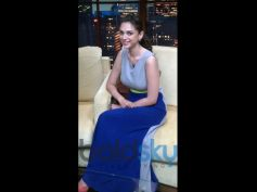 Aditi Rao Hydari's Stylish Appearances Cobalt Blue Gown