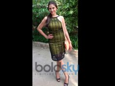 Aditi Rao Hydari's Stylish Appearances Green Dress