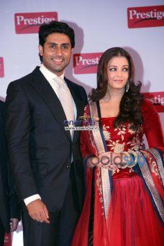Aishwarya Rai & Abhishek Bachchan Brand Ambassador of TTK Prestige