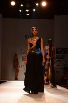 Beautiful Costume at Malini Ramani New Collection for WIFW
