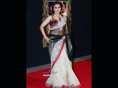 Rani Mukherjee in Black and White Saree