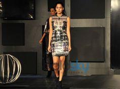 Blender Pride Fashion Tour model ramp walk on stage