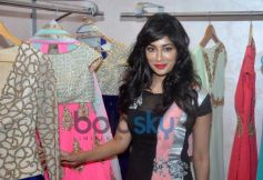 Chitrangda Singh cheks out dress at store