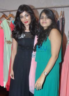Chitrangda Singh with Shruti Shah during Launch