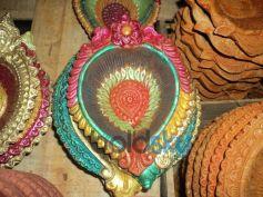 Colourful Diya