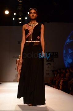 Confident Model Malini Ramani New Collection for WIFW