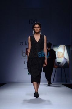 Day 2 of Wills India Fashion Week models ramp walk