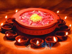 Diwali Decoration Ideas In Budget Floating Candles