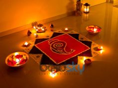 Diwali Decoration Ideas In Budget Rangoli
