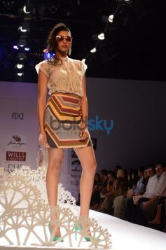 Geisha Designs by Paras & Shalini 2013 ramp show
